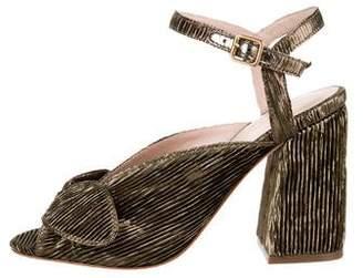 Loeffler Randall Leigh Metallic Sandals w/ Tags