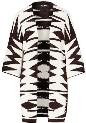 Ralph Lauren Cotton-Linen Cardigan $175 thestylecure.com