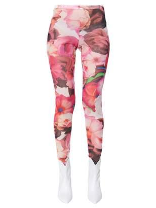 MSGM Floral-print Legging
