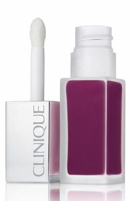 Clinique 'Pop Liquid' Matte Lip Color + Primer - Black Licorice Pop $18.50 thestylecure.com