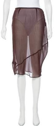 DAY Birger et Mikkelsen Silk Shear Skirt