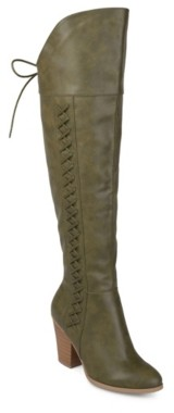 Journee Collection Spritz Wide Calf Over The Knee Boot