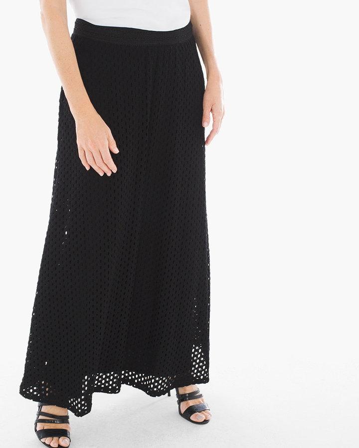 Chico S Eyelet Maxi Skirt Shopstyle Long