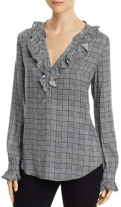 Paige Amalfi Houndstooth Shirt - 100% Exclusive