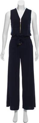 MICHAEL Michael Kors Sleeveless Wide-Leg Jumpsuit