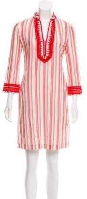 Tory Burch Striped Mini Dress