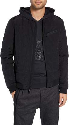 John Varvatos Quilted Bomber Jacket