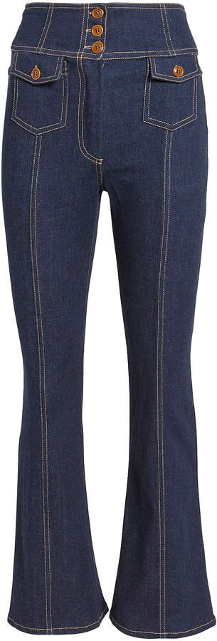 Ellis Crop Flare Jeans