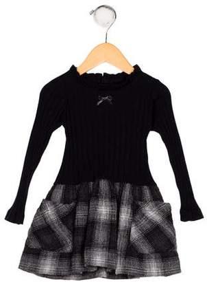 Lili Gaufrette Girls' Wool-Blend Dress