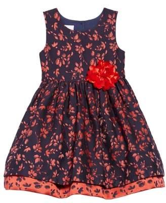 Frais Floral Jacquard Dress