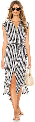 Seafolly Stripe Long Line Cover Up