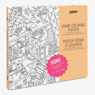 ABC Home Giant Coloring Poster Home