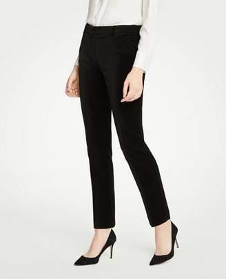 Ann Taylor The Tall Ankle Pant In Velvet
