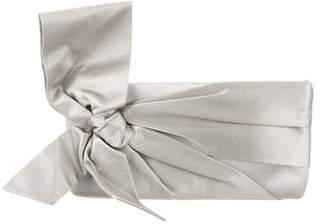 Valentino Satin Bow Clutch