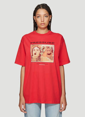 Pressure Milo T-Shirt in Red