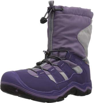 Keen Kid's Winterport II WP Mid Calf Boots, Purple Plumeria/Alloy
