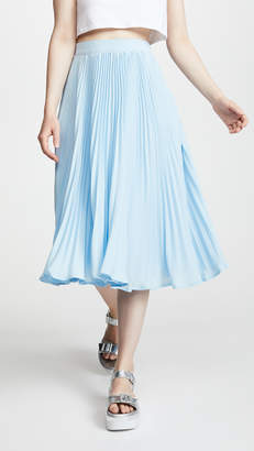 ENGLISH FACTORY Long Pleated Skirt