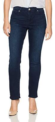 Bandolino Women's Petite Karyn Slim Boyfriend Ankle Jean