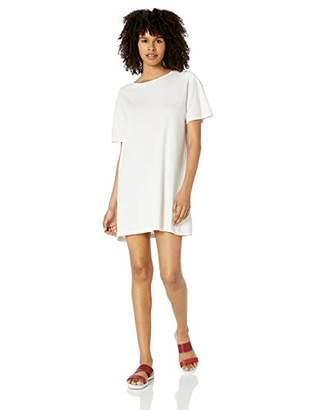 RVCA Womens Vinyl Oversized T-Shirt Dress