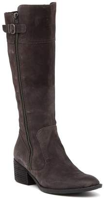Børn Fannar Knee High Suede Boot