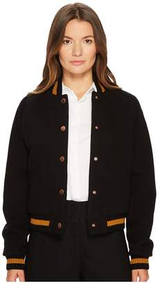 See by Chloe Logo Collegiate Bomber Women's Coat