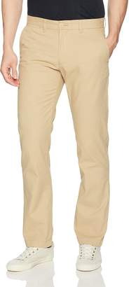 Tommy Hilfiger Men's Custom Fit Low Rise Flat Front Chino