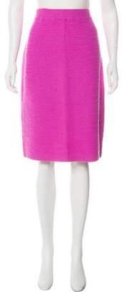 St. John Wool-Blend Skirt