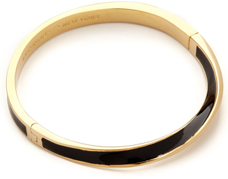 Kate Spade New York Do The Twist Hinged Bangle Bracelet $58 thestylecure.com