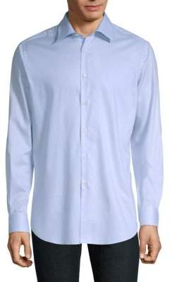 Pal Zileri Cotton Button-Down Shirt