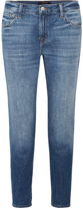 J Brand Johnny Boyfriend Jeans - Mid denim