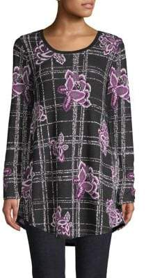 Style&Co. Style & Co. Jacquard Tunic Top
