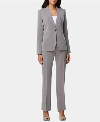 Tahari ASL Single-Button Pants Suit