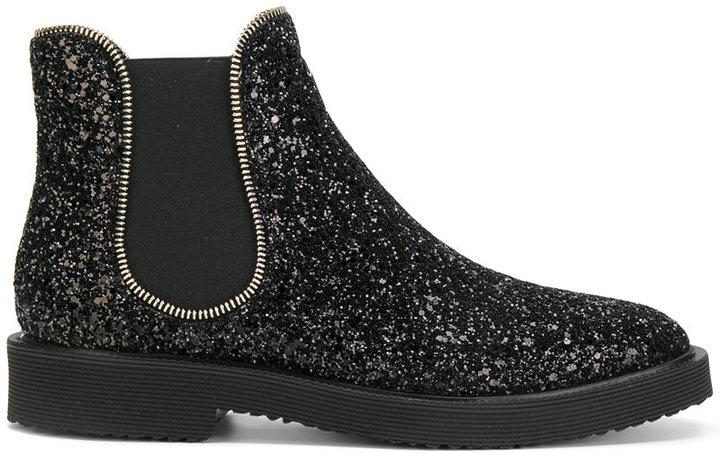 Giuseppe Zanotti Design Jaky glitter chelsea boots