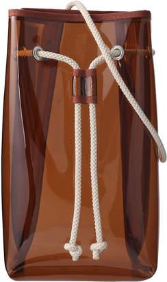 Martinique (マルティニーク) - マルティニーク PVC巾着バッグ