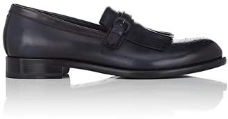 Harry's of London MEN'S GABRIEL BURNISHED LEATHER LOAFERS