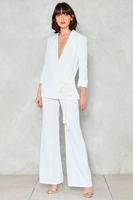 Nasty Gal On Your Toes Wide-Leg Pants