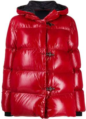 Fay clasp fastened puffer coat