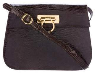 Salvatore Ferragamo Lizard Crossbody Bag