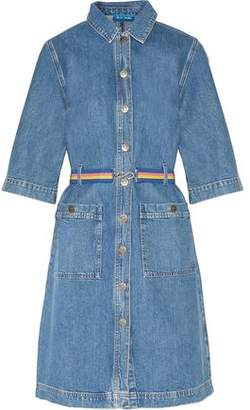 MiH Jeans Lola Belted Denim Dress