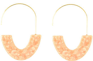 Eye Candy Los Angeles Ava Resin Statement Earrings