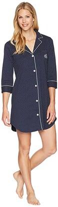 Lauren Ralph Lauren Essentials Bingham Knits Sleep Shirt