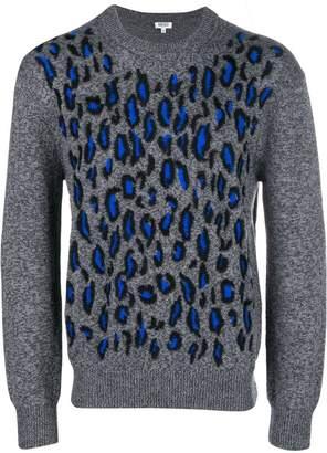 Kenzo leopard knit jumper