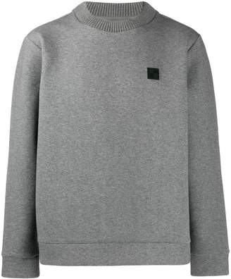 Woolrich contrasting patch jumper