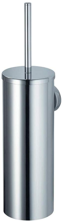 Kosmos Wall-Mounted Or Free-Standing Toilet Brush Holder - Chrome