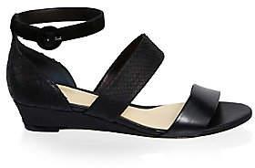 Alexandre Birman Women's New Yanna Leather Platform Sandals