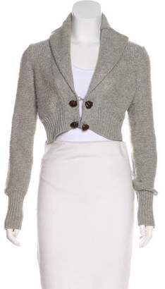Alexander Wang Cropped Cashmere Cardigan