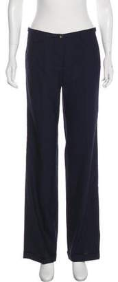 Loro Piana Mid-Rise Flared Pants