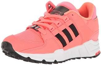 adidas Girls' EQT Support J Sneaker Black/Turbo Fabric