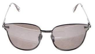 Le Specs Pharaoh Mirrored Sunglasses