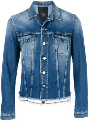 Frankie Morello demin longsleeved jacket